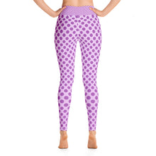 "Load image into Gallery viewer, ""Violet View"" -Yoga Leggings"