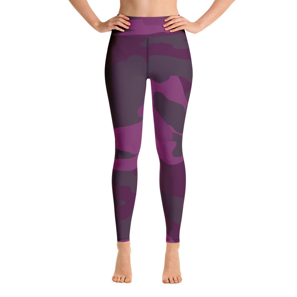 """Amazing Aubergine"" Yoga Leggings"