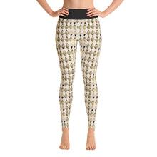 "Load image into Gallery viewer, ""Harlequin Happy"" Yoga Leggings"