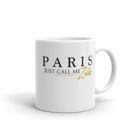 "PARIS ""Just call me Zelda"" - Mug"