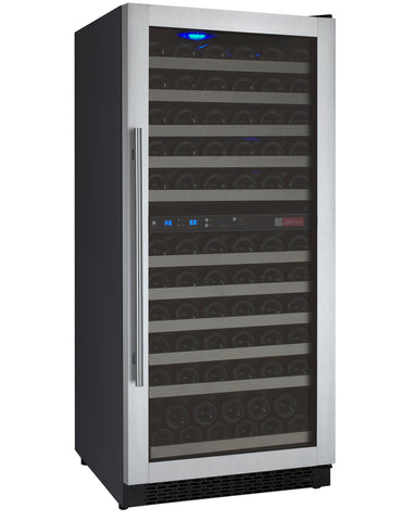121-Bottle Flexcount Series Dual Zone Wine Refrigerator