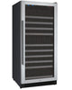 Image of 128 Bottle FlexCount Series Single Zone Wine Refrigerator - Stainless