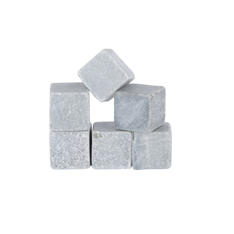 Glacier Rocks™ Set of 6 Soapstone Cubes