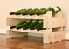 Image of 10-Bottle 2 x 5 Bottle Modular Wine Rack