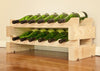 Image of 12-Bottle 2 x 6 Bottle Modular Wine Rack