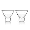 Image of Raye Stemless Martini Glasses