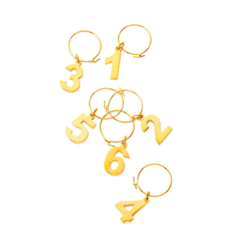Belmont™ Gold Plated Wine Charms
