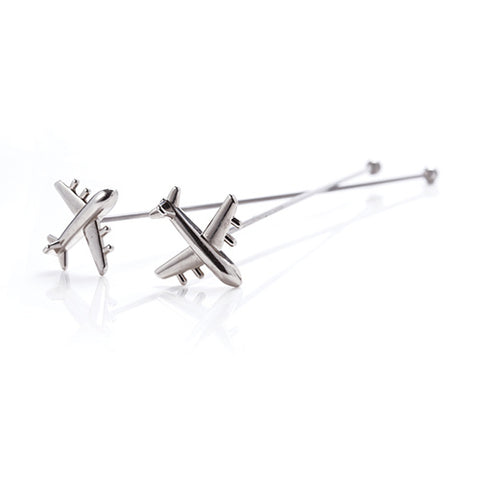 Irving™ Stainless Steel Airplane Stir Sticks