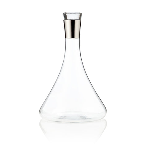 Raye™ Chrome Decanter