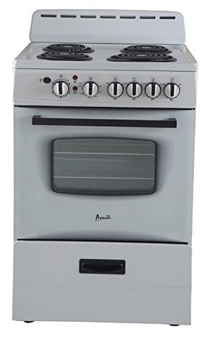 "24"" Electric Range White"