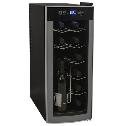 12-Bottle Single Zone Thermoelectric Countertop Wine Chiller