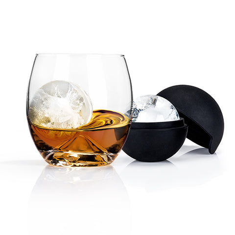 Glacier Rocks® Ice Ball Mold and Tumbler Set