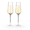 Image of Raye Crystal Champagne Flutes (Set of 2)