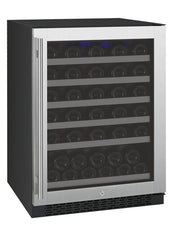 56-Bottle FlexCount Series Single Zone Wine Refrigerator Stainless