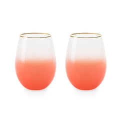 Stemless wine and cocktail Mariposa (set of 2)