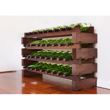 36-Bottle 4 x 9 Bottle Modular Wine Rack