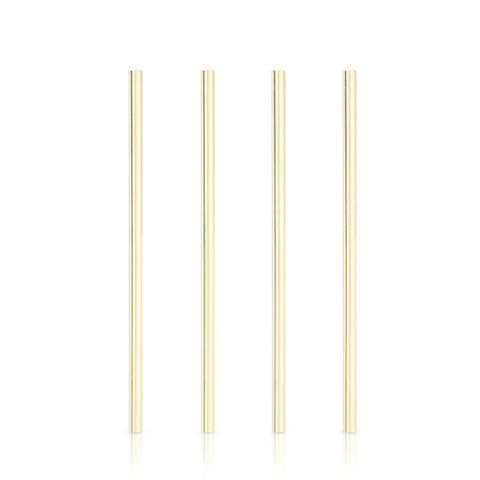 Belmont™ Wide Gold Cocktail Straws