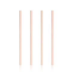 Summit™Wide Copper Cocktail Straws