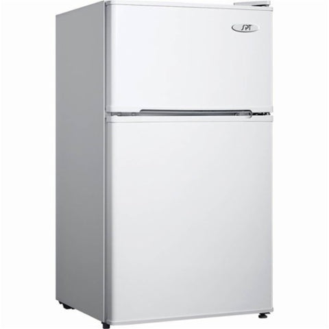 3.1 cu.ft. Double Door Refrigerator with Energy Star - White