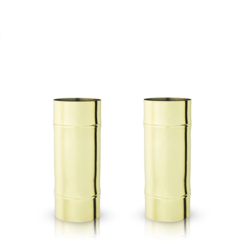 Pacific Bamboo Highball Glasses
