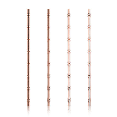 Pacific Copper Bamboo Straws