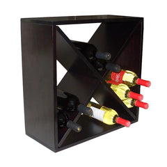 Countertop Diamond Bin Wine Rack