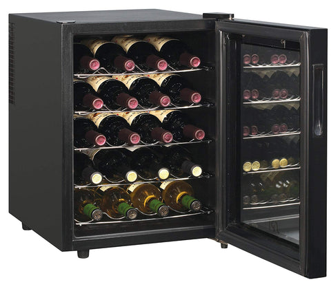 20-Bottle Thermo-Electric Wine cooler with Touch-Sensitive Control