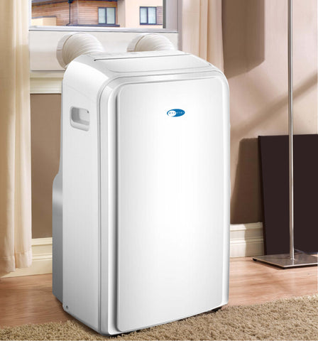 12,000 BTU Dual Hose Portable Air Conditioner With 3M and Silvershield Filter