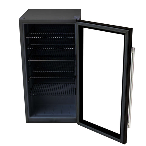 Beverage Refrigerator - Stainless Steel