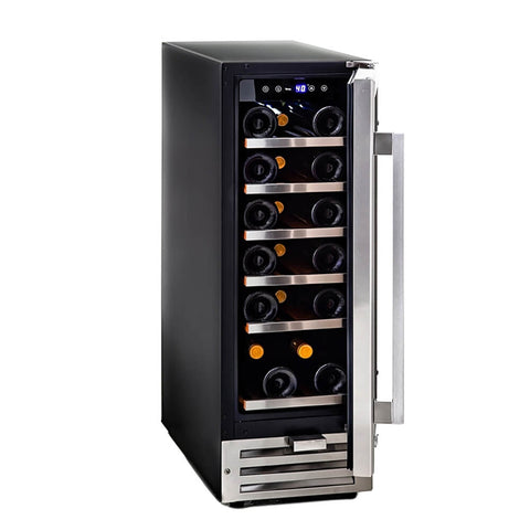 18 Bottle Compressor Built-In Wine Refrigerator