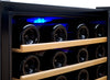 Image of 48-Bottle Cascina Series Wine Cooler - Stainless Steel