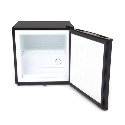 1.1 cu. ft. Upright Freezer with Lock - Stainless Steel
