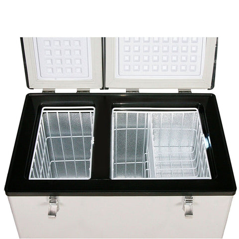 62 Quart Dual Zone Portable Fridge/ Freezer