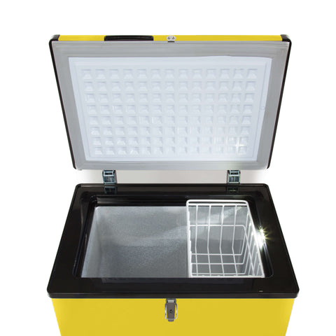 95 Quart Portable Fridge / Freezer - Limited Edition Yellow