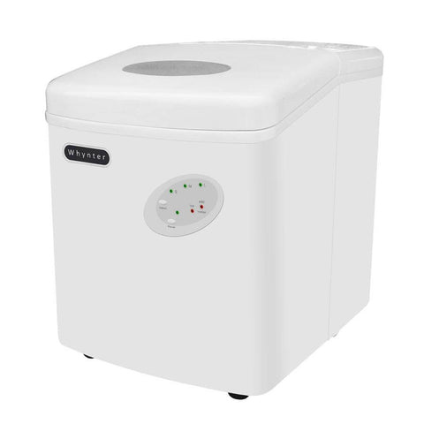 Portable Ice Maker 33 lb Capacity - White