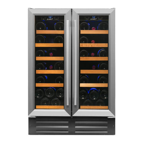 40-Bottle Deluxe Professional Series Dual Zone Wine Refrigerator