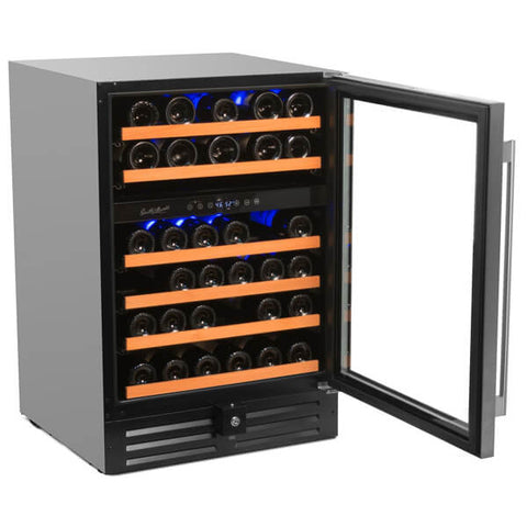46-Bottle Deluxe Professional Series Dual Zone