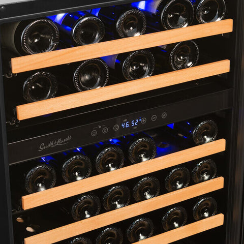 46-Bottle Dual Zone Wine Refrigerator