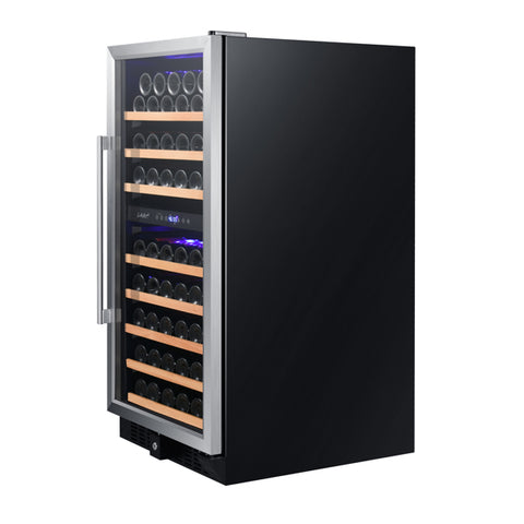 89-Bottle Dual Zone Wine Refrigerator