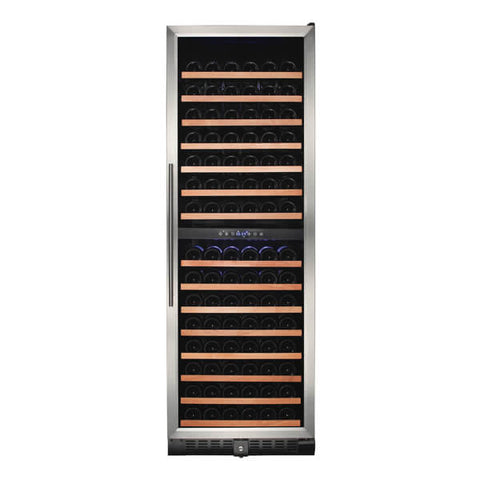 166-Bottle Dual Zone Wine Refrigerator