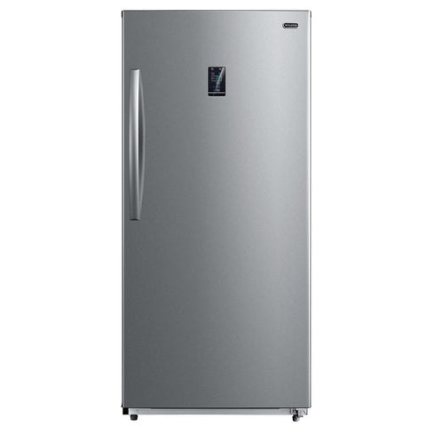 13.8 cu.ft. Upright Convertible Deep Freezer / Refrigerator  - Stainless Steel