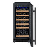 Image of 30 Bottle FlexCount Series Single Zone Wine Refrigerator - Black