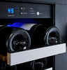 Image of 36-Bottle FlexCount Series Dual Zone Wine Refrigerator - Stainless