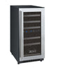 Image of 30 Bottle FlexCount Series Dual Zone Wine Refrigerator - Stainless
