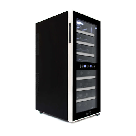 24 Bottle Dual Zone Thermoelectric Wine Cooler