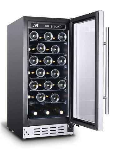 33-Bottle Commercial Grade Under-Counter Wine Cooler