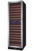 Image of 172 Bottle Dual Zone FlexCount Classic Series Wine Refrigerator - Stainless Steel
