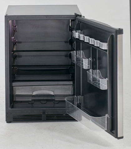 "24"" 5.2 cu. ft. Stainless Steel Undercounter Refrigerator"