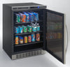 "Image of Keg Cooler - 23.5"" - 5.1 cu ft - Stainless Steel and glass"