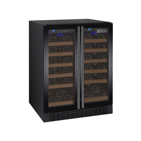 36-Bottle FlexCount Series Dual Zone Wine Refrigerator - Black